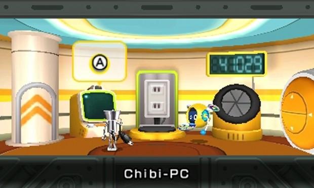 La casa di Chibi-Robo col Chibi-PC.