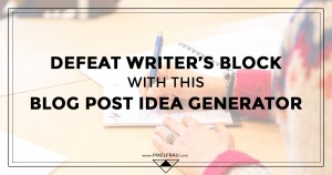 blog post ideas google keyword planner