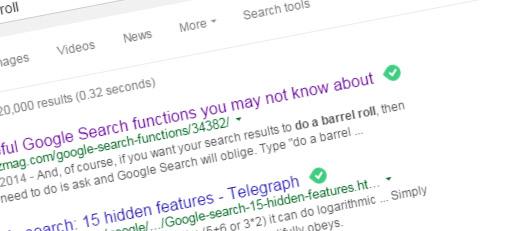 googlesearch doabarrelroll