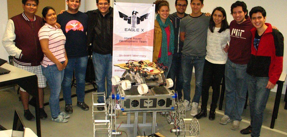 Estudiantes mexicanos diseñan un todoterreno para explorar Marte