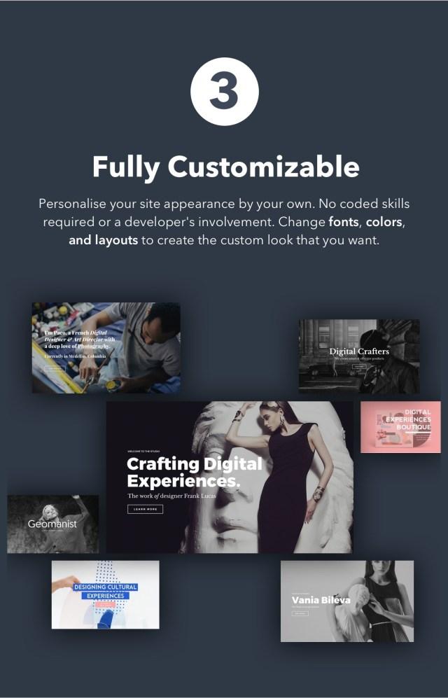 PILE - An Uncoventional WordPress Portfolio Theme - 4