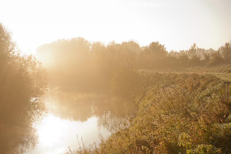 Ein kleiner Vorgeschmack - Nebel in Bad Oeynhausen