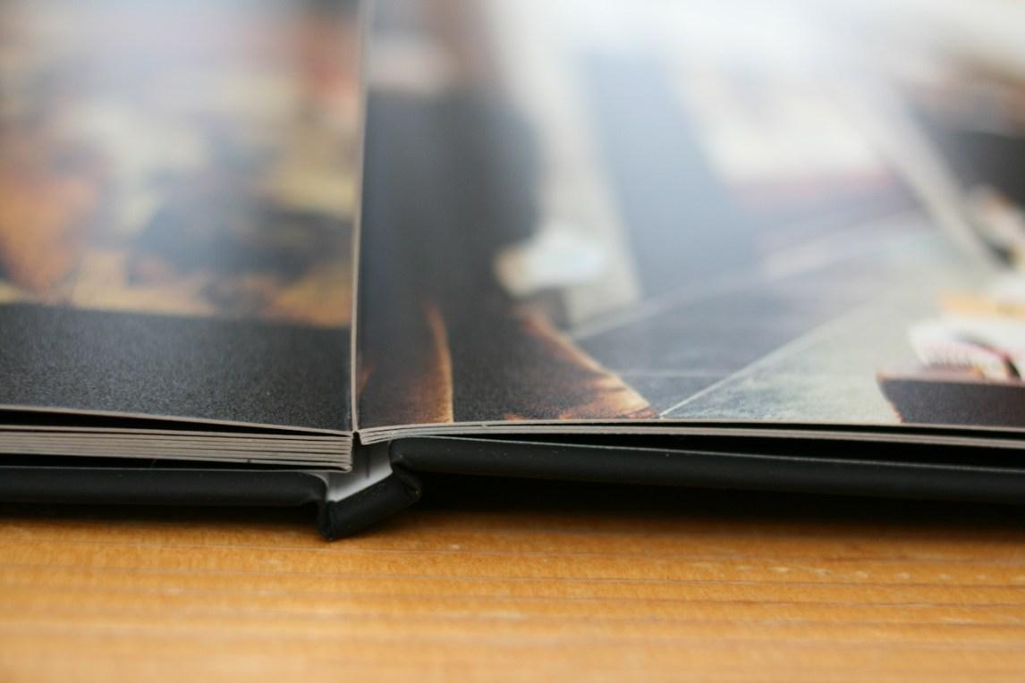 Hardcover Buch von SaalDigital - Panoramabindung
