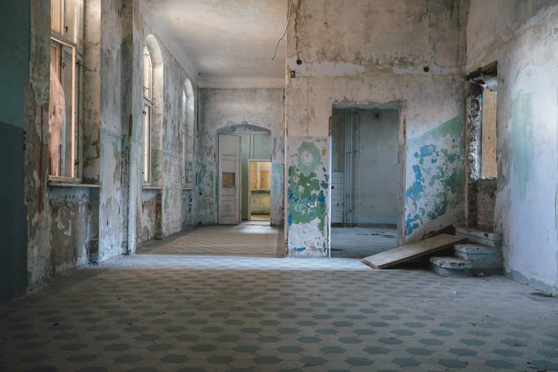 Beelitz-Heilstätten – Sanatorium für Männer Wohnpavillion A