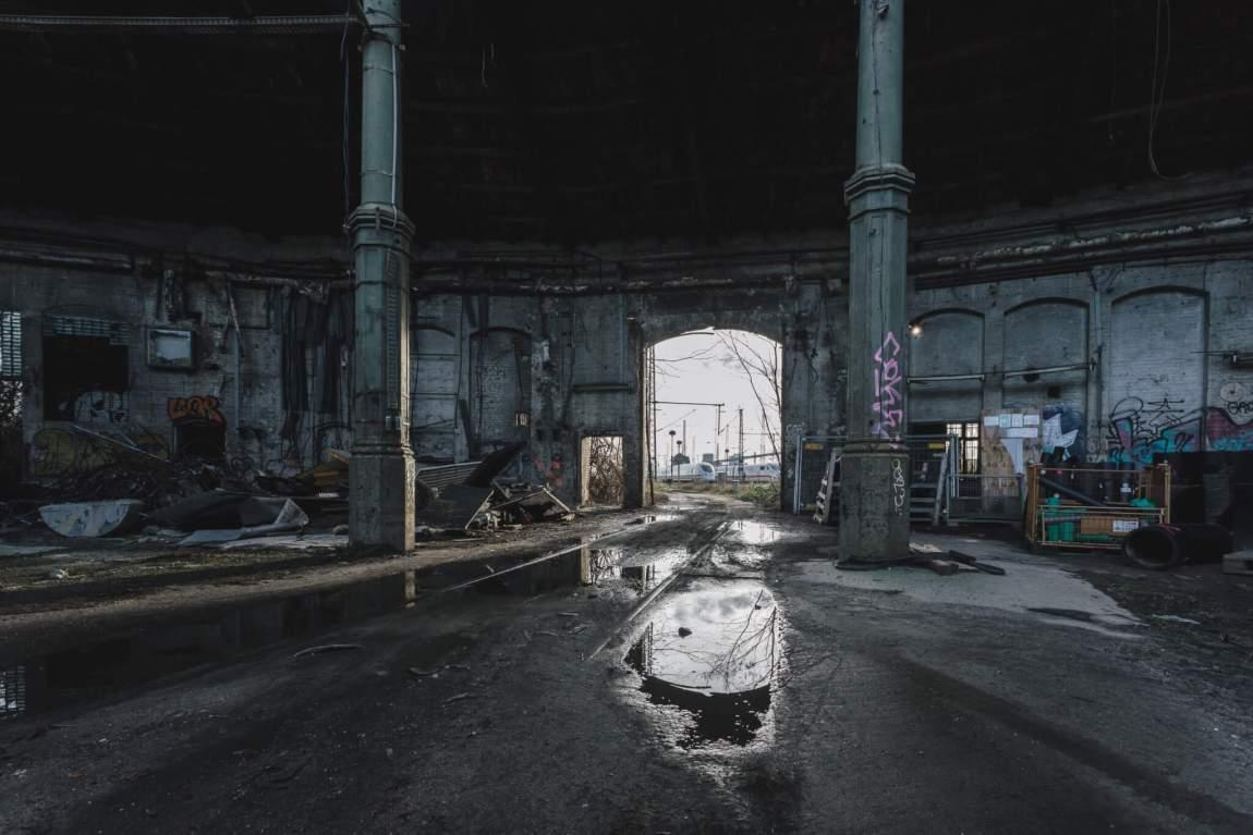 Rundlokschuppen in Rummelsburg - Ein verlassener Betriebsbahnhof