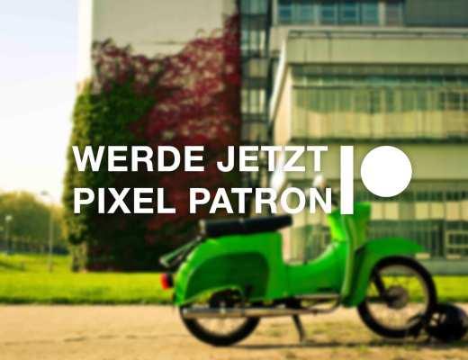 Patreon - Werde Pixel Patron