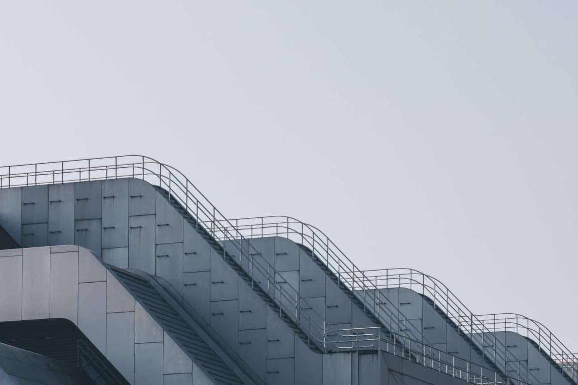Messe ICC Berlin - Brutalismus aus Beton