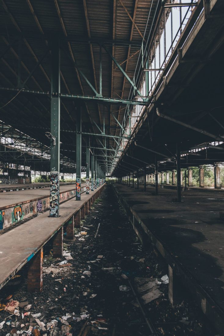 Güterbahnhof Duisburg - Ein verlassener Bahnhof im Ruhrgebiet