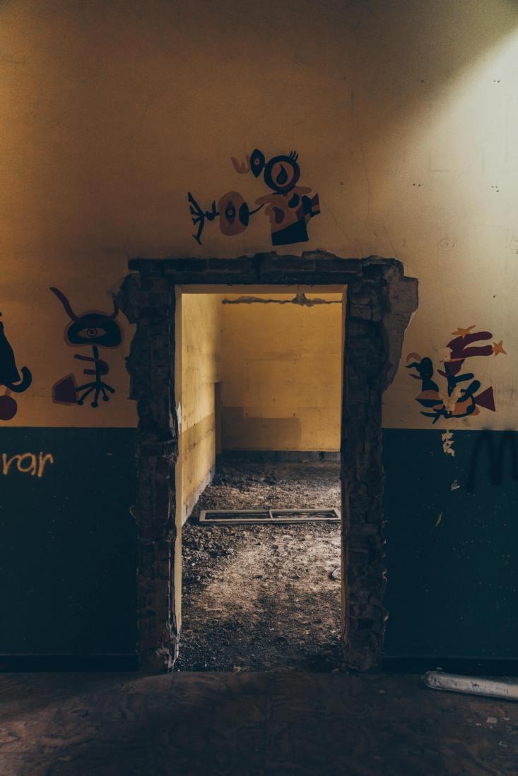 Adolph-Kolping-Schule - Eine verlassene Schule