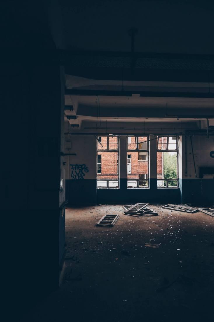 Die verlassene Knopffabrik PSW