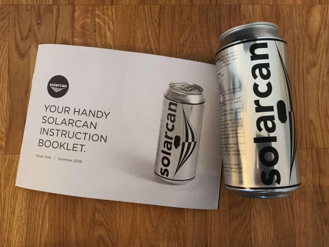 Solarcan - Das Foto aus der Dose