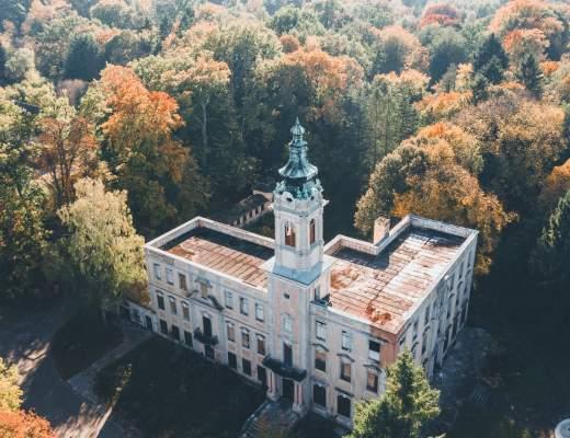 Schloss Dammsmühle - Ein verlassenes Herrenhaus