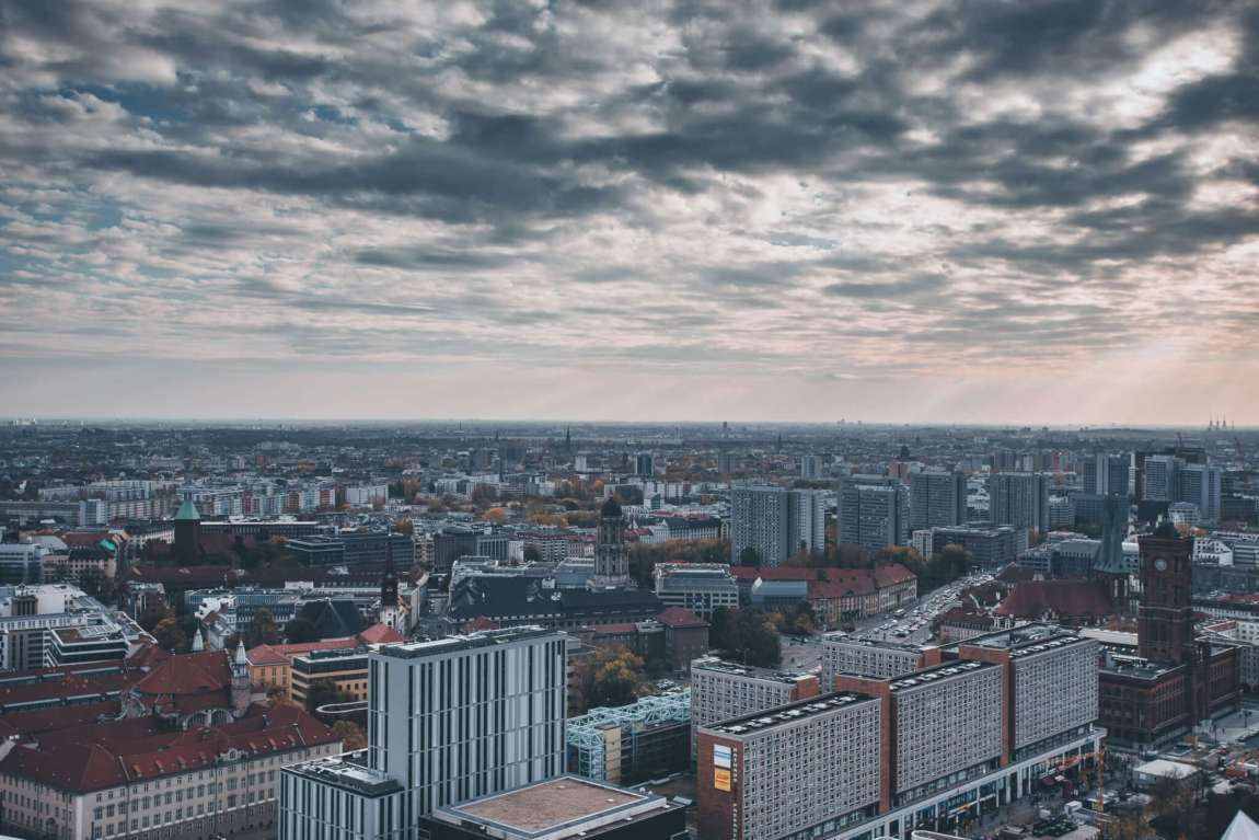 Aussicht vom Park Inn am Alexanderplatz