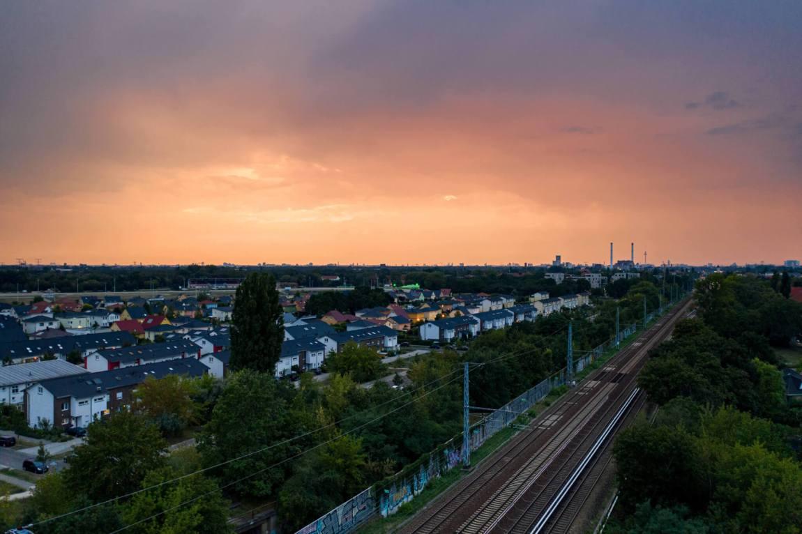 Luftaufnahmen in Karlshorst