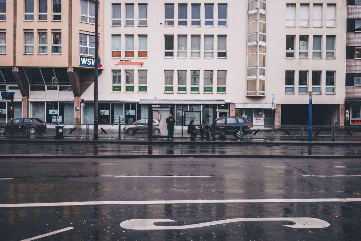 Regen in Wuppertal