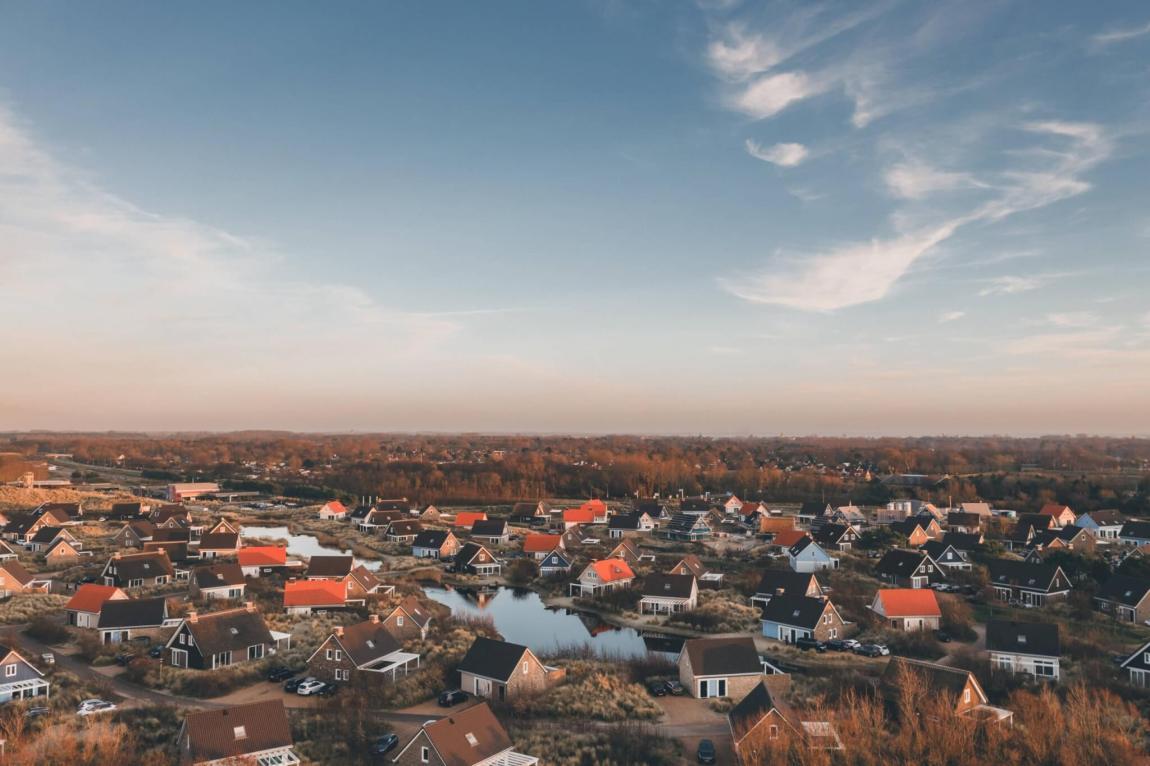 Ouddorp auf der Insel Goeree-Overflakkee