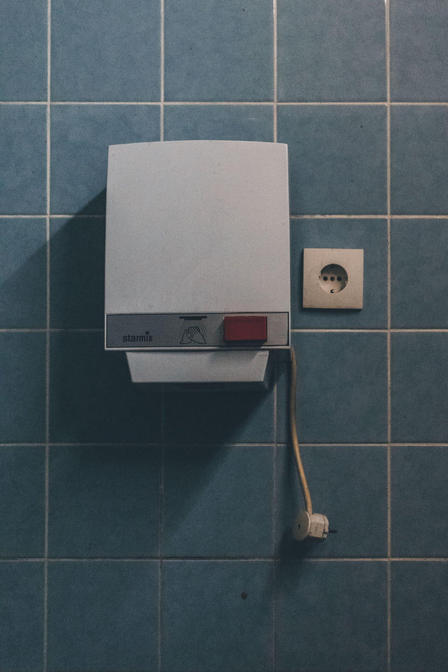 Verlassener Sanitär- & Heizungsgroßhandel