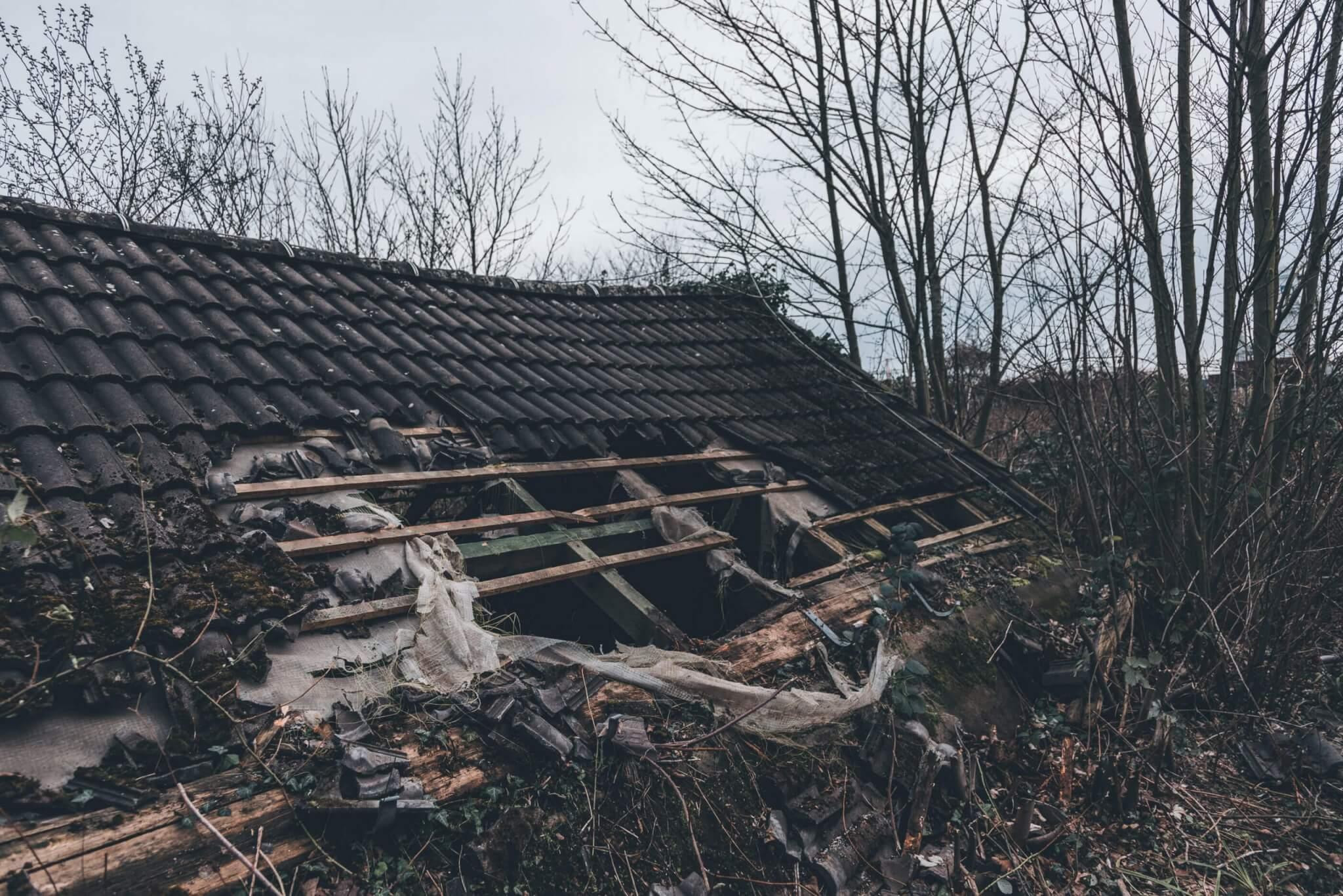 Verlassene Lagerhallen in Dortmund