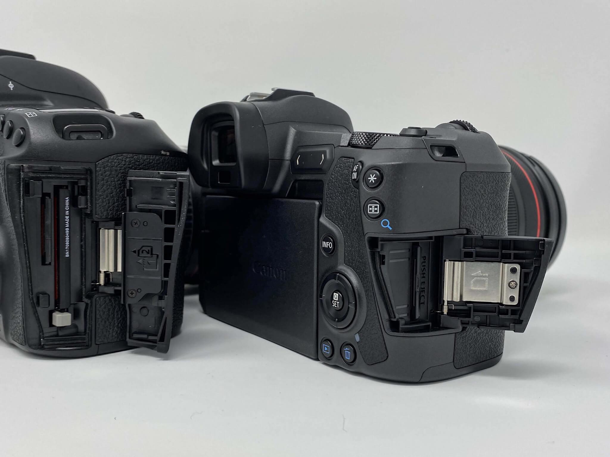 Vergleich: Canon EOS R und Canon EOS 5D MK IV