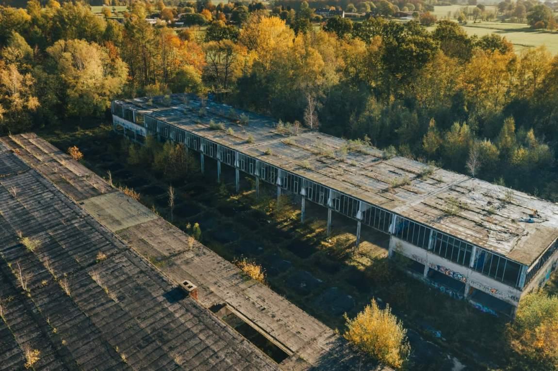 Ehemaliges Militärgelände Camp Hitfeld