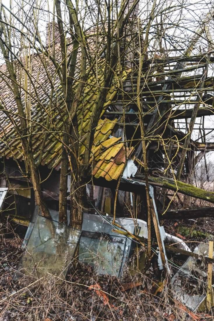 Der verlassene Bauernhof