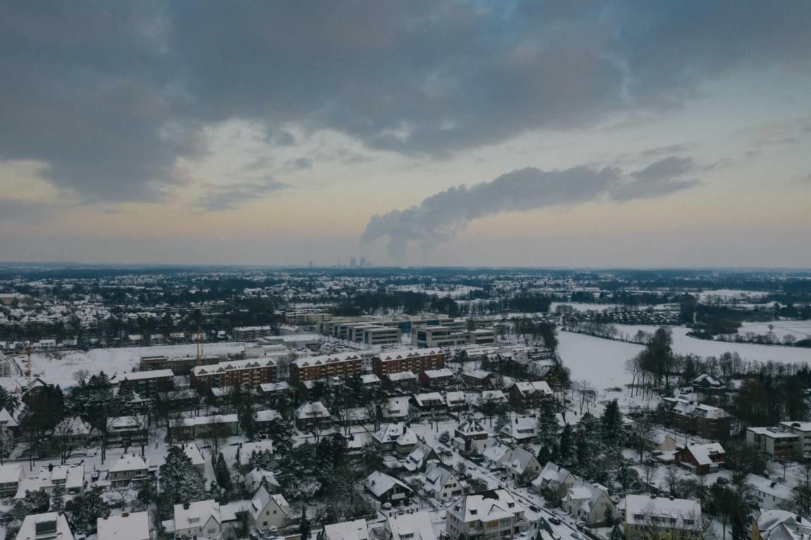 Hamm im Schnee