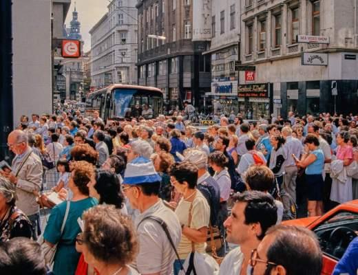 Von früher: Wien im Sommer 1985