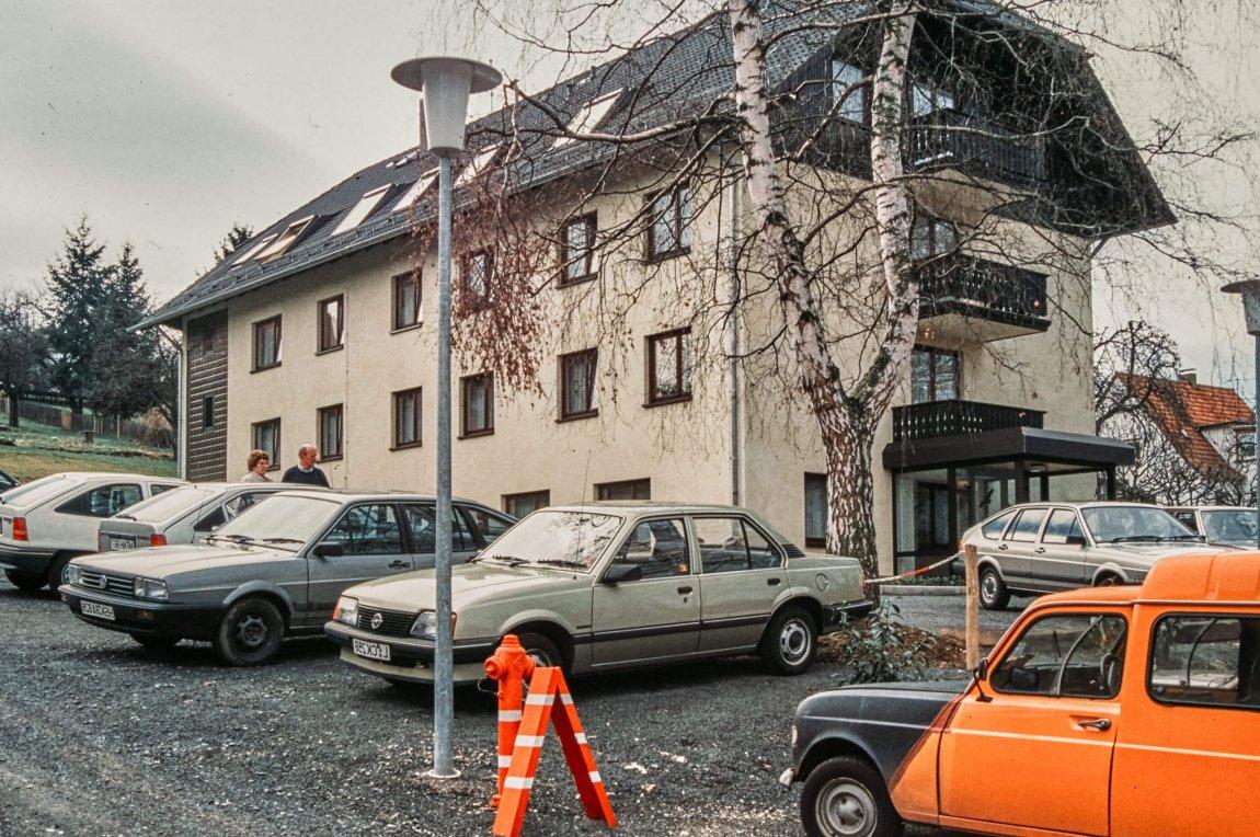 Von früher: Witzenhausen im Herbst 1988