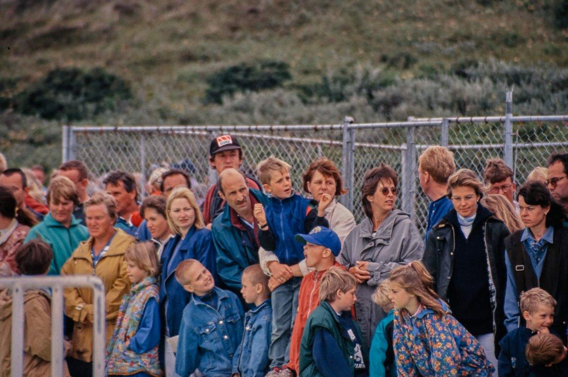 Von früher: Texel im Juli 1996