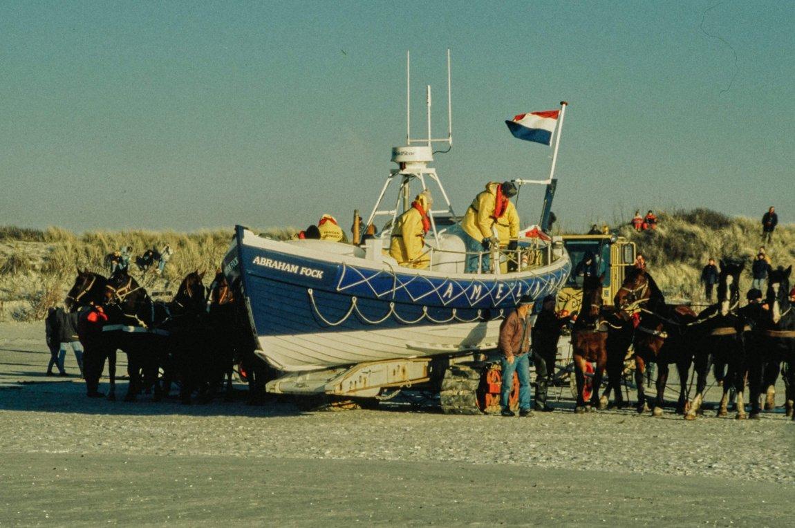 Von früher: Ameland Silvester 1996
