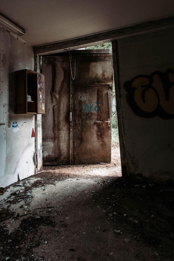 Vergessenes Waldkrankenhaus