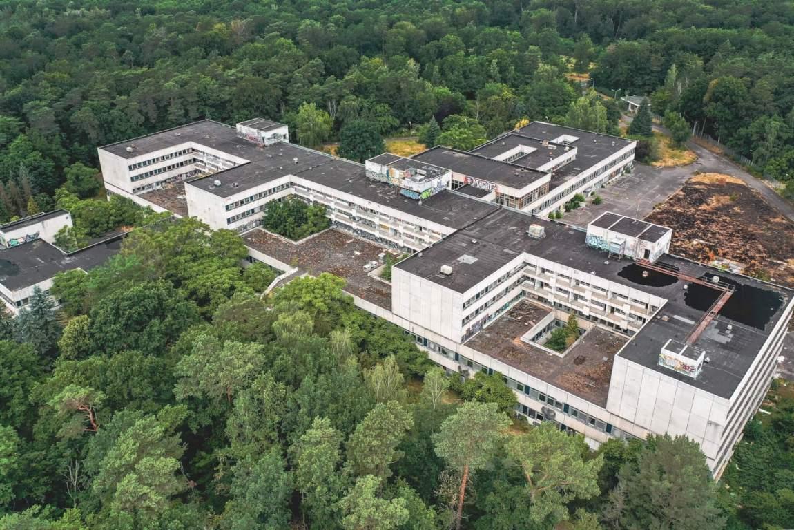 Regierungskrankenhaus der DDR in Berlin Buch