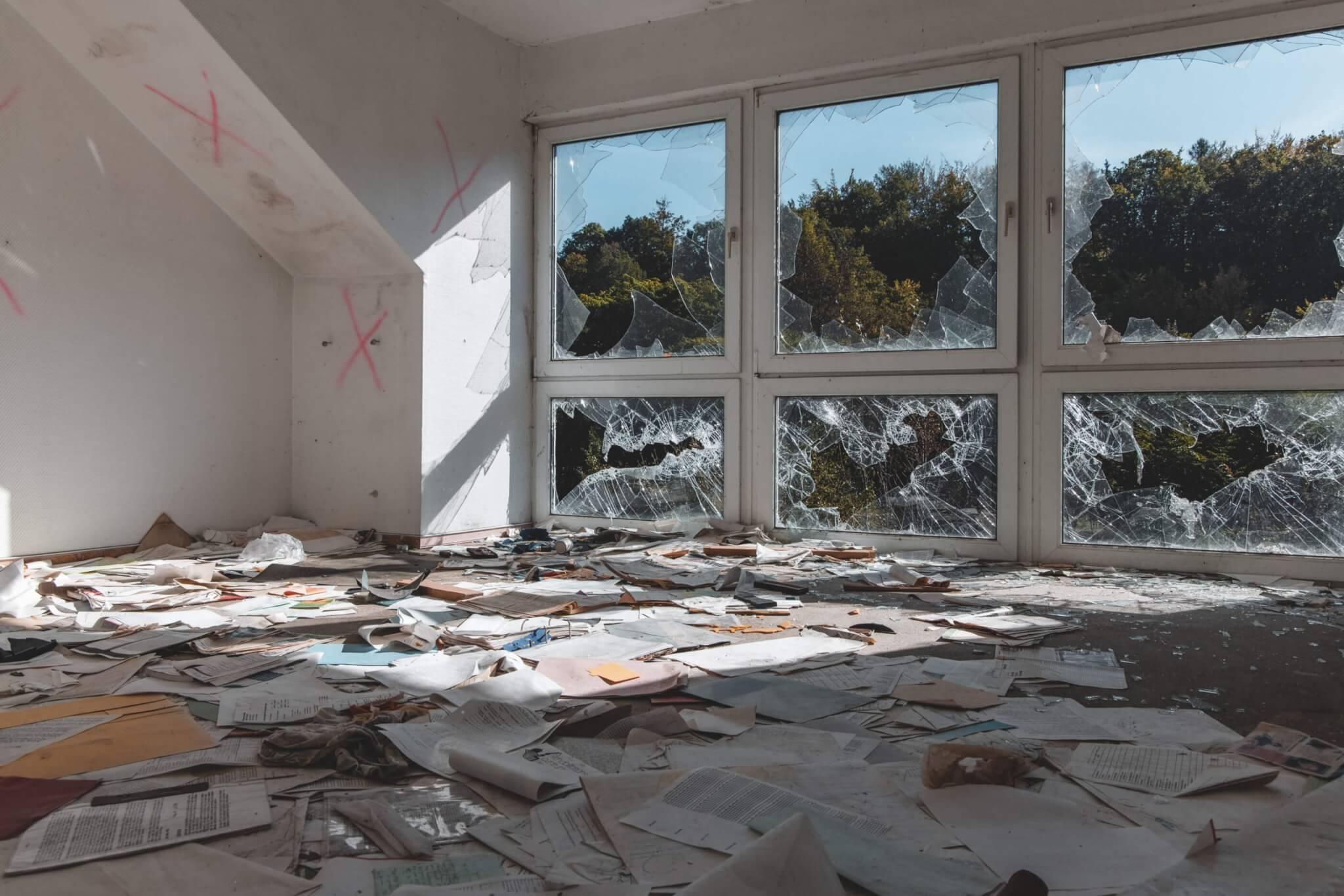 Die verlassene Reha-Klinik