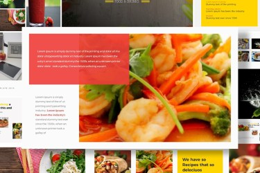 Food & Restaurant Powerpoint Presentation Free Free Presentations Templates pixelify net