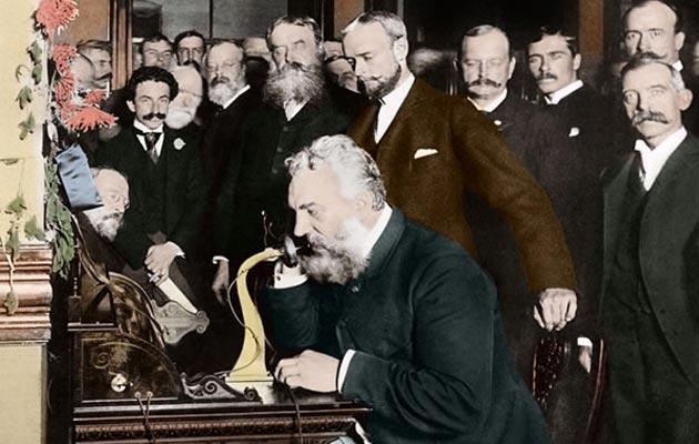 Alexander Graham Bell i njegov telefon