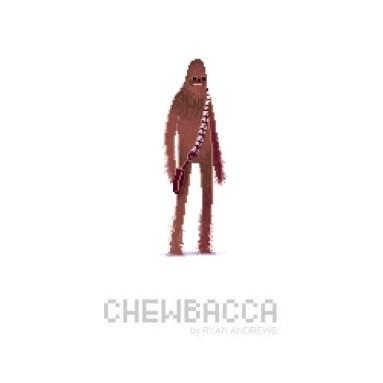 Pixel Chewie