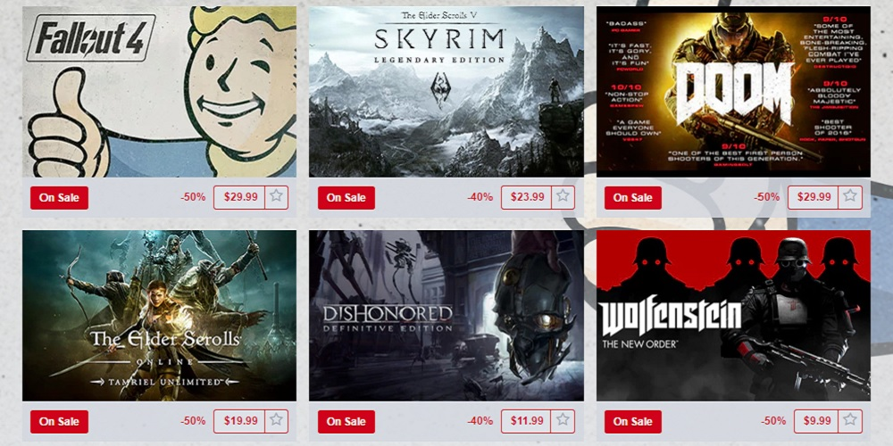 Get Bethesda Games Up To 50 Off During QuakeCon Sale