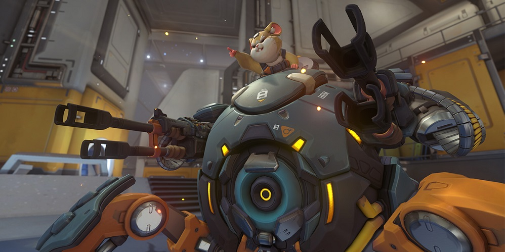 Overwatchs Next Hero Is A Mech Piloting Hamster Named Hammond