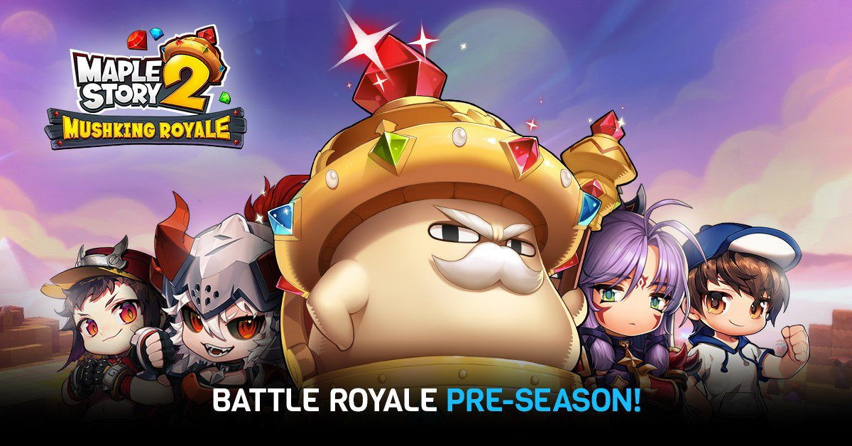 MapleStory 2 Coming in Oct Battle Royale Mode Available Now