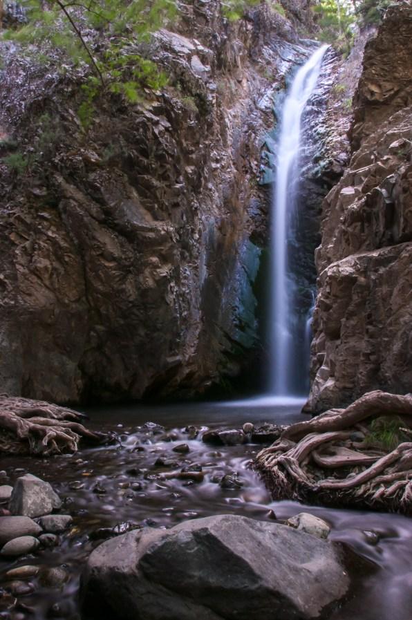 Millomeri Waterfalls Cyprus