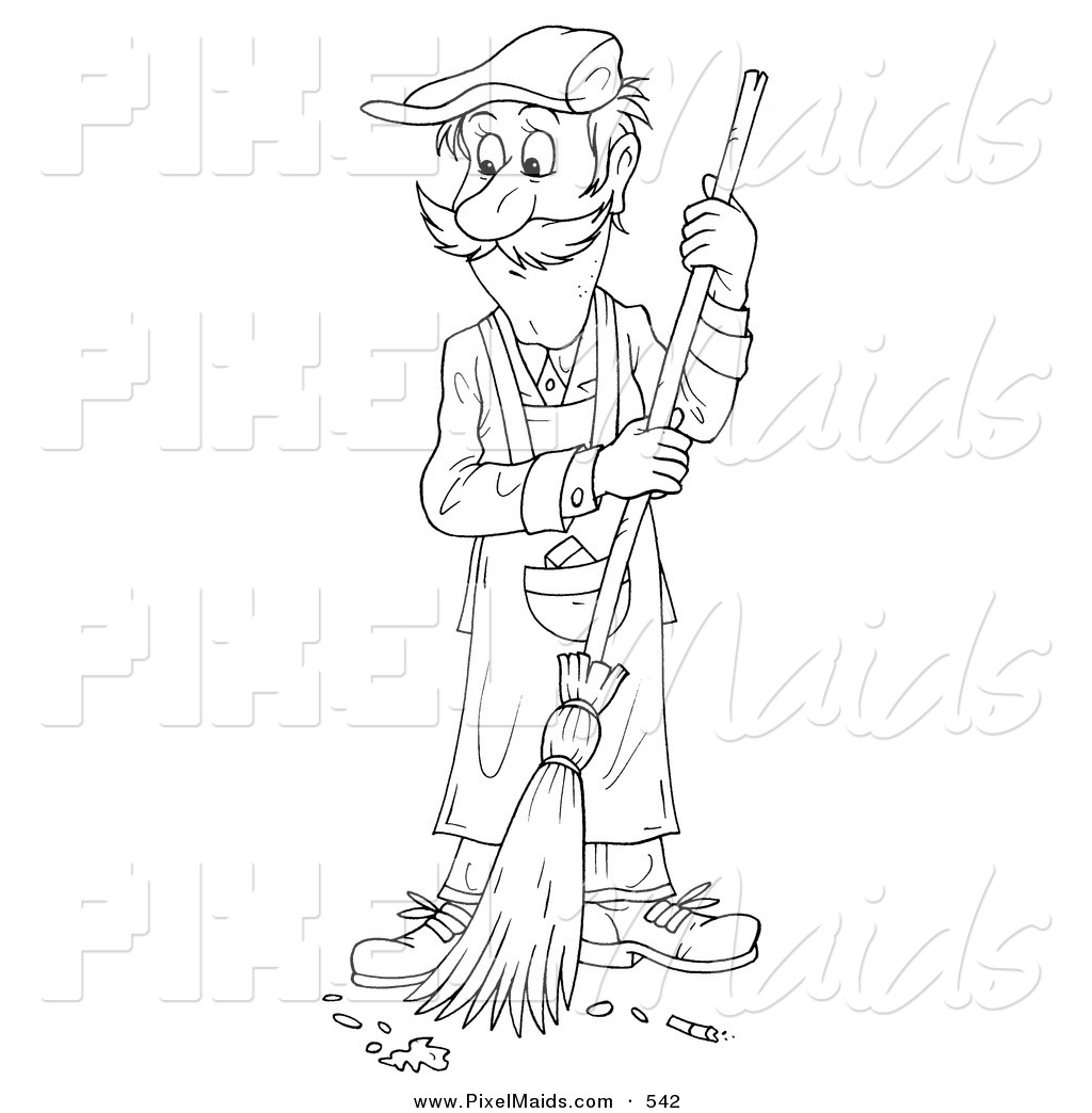 Royalty Free Stock Maid Designs Of Coloring Sheets