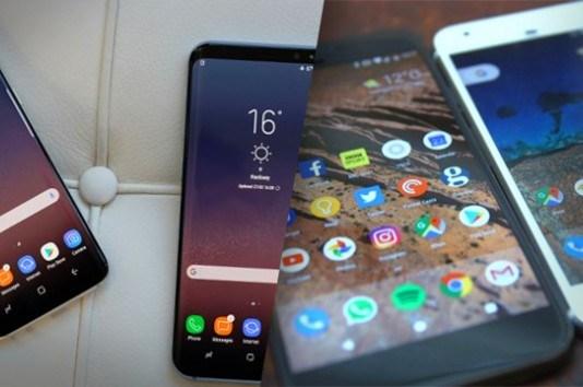 Samsung Galaxy S8 vs Google Pixel vs Google Pixel XL