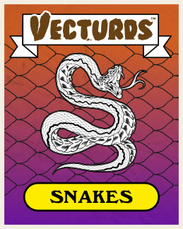 vecturds, snakes, snake pack, rattle snake, cobra, snake brushes