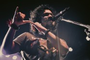 Angarag Mahanta, known by his stagename Papon, is an Indian singer, composer and record producer from Assam.[1] He is the lead singer and founder of the folk-fusion band called Papon and The East India Company.