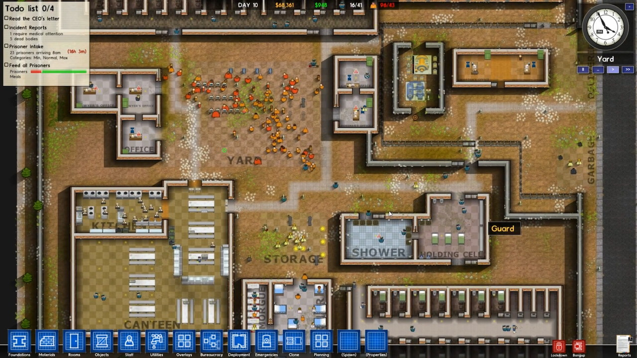 Download Game Prison Architect Alpha 17 - 99 GAMING NETWORK
