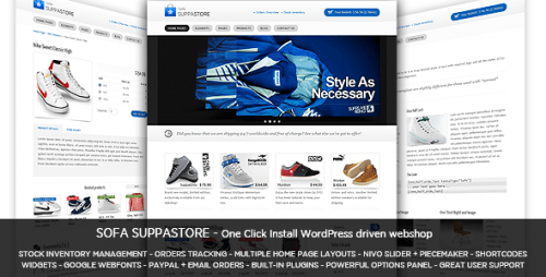 49_Sofa SuppaStore - WordPress Driven Webshop