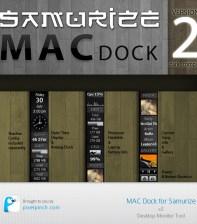 Samurize MacDock v1