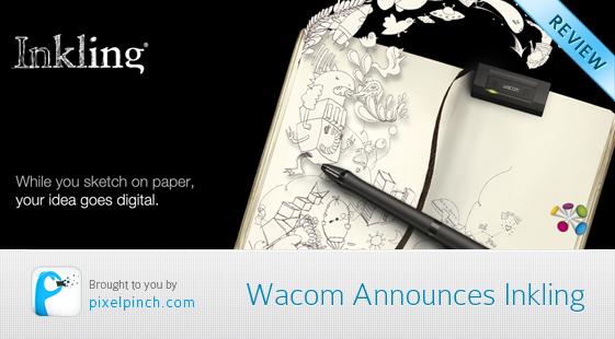 Wacom Inkling announced