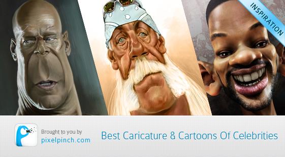 Best Caricature & Cartoons Of Celebrities