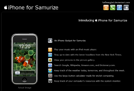 iPhone_for_Samurize_by_halfwayglad